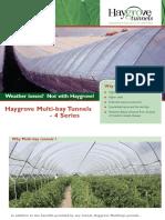 Haygrove Multi-bay Tunnels - 4 Series
