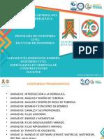 PRESENTACION HIDRAULICA CLASE 1 25 agosto 2020