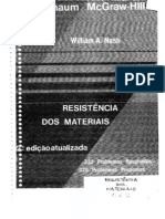 Resistência dos Materiais - Coleção Schaum