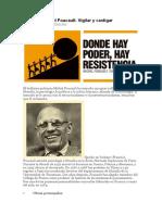 Foucault y el El poder