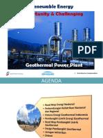 Renewable Energy - Geothermal Power Plant_R01