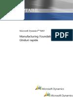 Dynamics NAV - Ghid Rapid Fundație Fabricație