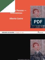 Caracteristicas Alberto Caeiro