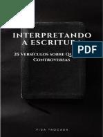 Interpretando a Escritura 9 (2)