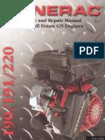 Generac GN-220 Service Manual