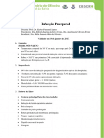 Protocolo Infeccao Puerperal