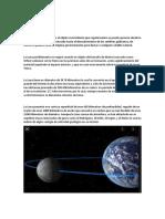 El satelite de la Tierra