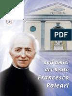 Agli Amici del Beato Paleari - Anno XXXVI N.2
