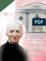 Agli Amici del Beato Paleari -  Anno XXXV n.2