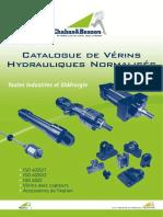 catalogue choix vérins hydrauliques