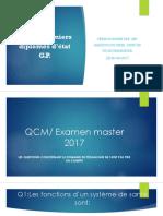 QCM 2 2017
