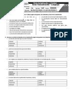 AD0104 - Ficha de La Comunicación y Sus Elementos Para Tiempos de CoVid-19 - 1roS