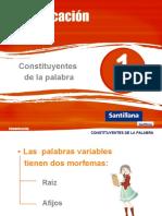 BORR - La Palabra y Sus Constituyentes_Santillana