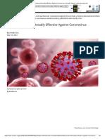 EmitBio Treatment Broadly Effective Against Coronavirus Variants _ News _ sanfordherald.com