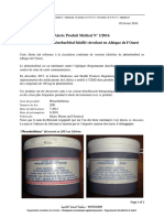 Alert 1 2016_Fev_Falsified Phenobarbital  West   Africa_FR