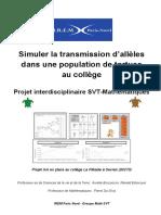 Simuler Transmission Allele Tortue College