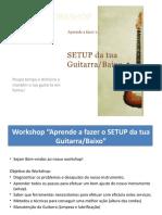 POWERPOINT Setup de Guitarra