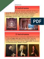 Forme e generi del barocco slide