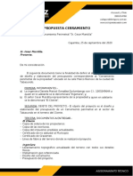PROPUESTA SR. CESAR MANTILLA