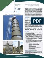 Lavador de Gases - Torre de Enchimento
