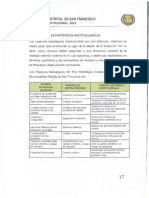 OBJETIVOS ESTRATEGICOS INSTITUCIONALES