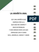 LA ARAÑITA ANA