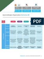 APRENDE EN CASA Aprendizajes Esperados Primaria Semana 28