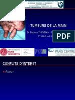 tumeurs des mains