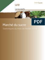 France Agrimer 2018 Sucre