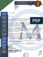 Magnates Sponsorship Letter 2019 2020