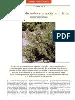 Plantas Medicinales con accion diuretica Ambito farmaceutico Fitoterapia
