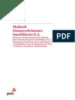 Demonstrativos Financeiros Do Resultado Da Melnick Even Do 4t20