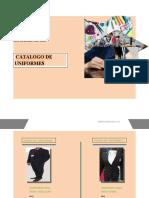 CATALOGO DE UNIFORMES
