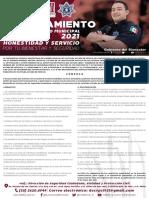 Convocatoria Policía Preventivo Municipal Tultitlán 2021:
