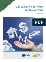 Analise Cenário Do Emprestimo No Brasil 2018