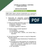 Hist 6ºb Guía de Aplicación-los Poderes Del Estado 18-03-2021