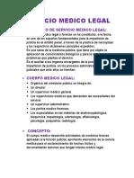 SERVICIO MEDICO LEGAL