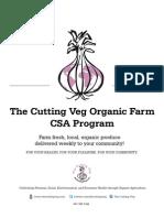 The Cutting Veg CSA Program 2011