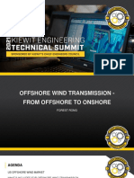 Kiewit Technical Offshore Wind Transmission