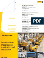 Application and Installation of Diesel Generator Sets