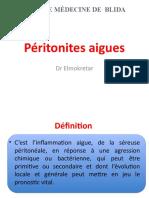Peritonites aigues (1)