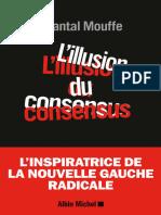 Mouffe, Chantal - L'Illusion Du Consensus-Albin Michel (2016)