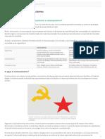 Comunismo e anarquismo - Diferença
