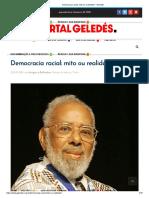 Democracia racial_ mito ou realidade_ - Geledés