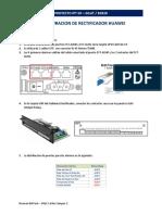 Configuracion Rectificador Huawe