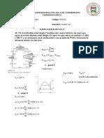 Ejercicios parcial 2 Termodinámica