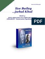 Bailey Alice Maestro Ascendido Djwhal Khul