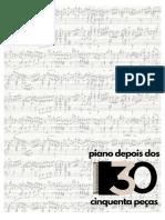 livro completo 50 peças gerais de piano