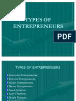 No.8 Types of Entrepreneurs