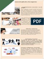 Normativa laboral aplicada alos negocias infografia